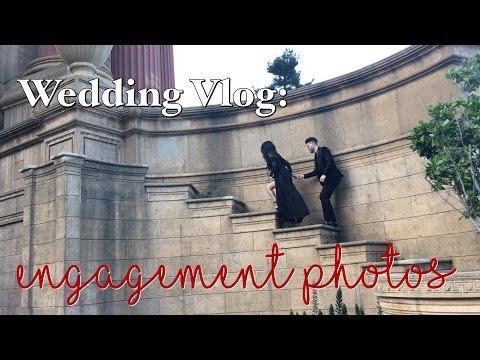 Wedding Vlog #4: Engagement photos & boys, boys, boys.