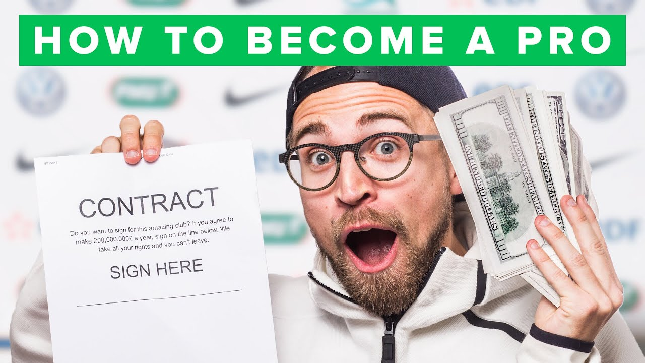Photo of HOW TO BECOME A PRO FOOTBALL PLAYER – الرياضة