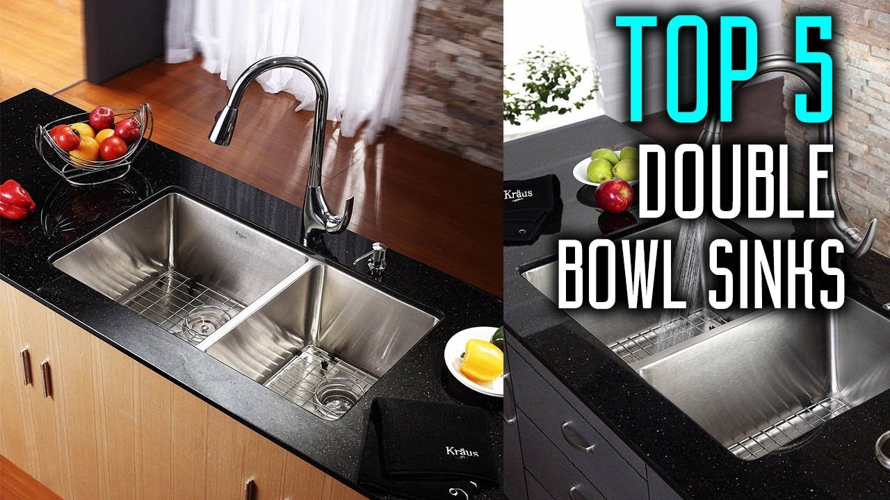 Best Double Bowl Stainless Steel Kitchen Sinks in 2018 - Best Stainless  Steel Sinks