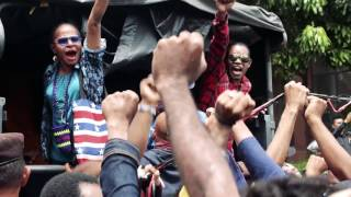 Sorgemagz com Aksi Menuntut Referendum di Papua l Jakarta 1 Desember 2016