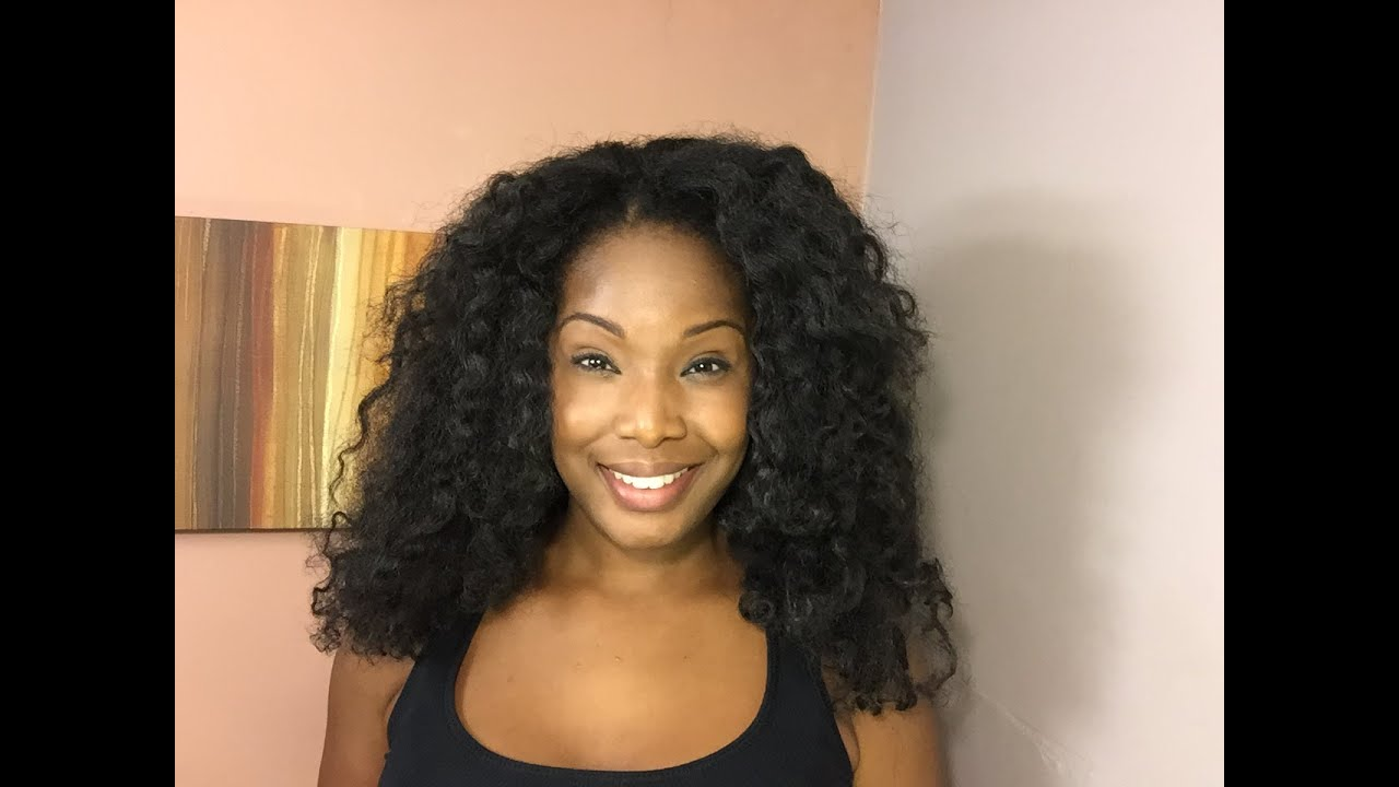 U Part Wig And Knotless Crochet Install Using Cuban Twist