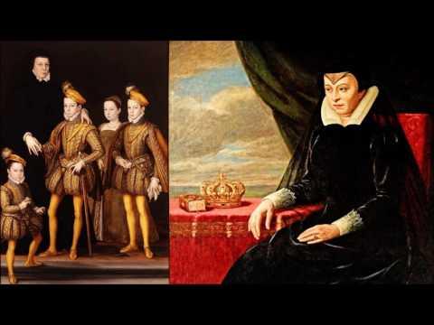 2. Екатерина Медичи - Королева Франции. Чёрная королева. Королева из рода банкиров. Часть 2