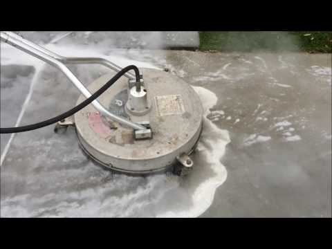 Pressure Washing Demonstration