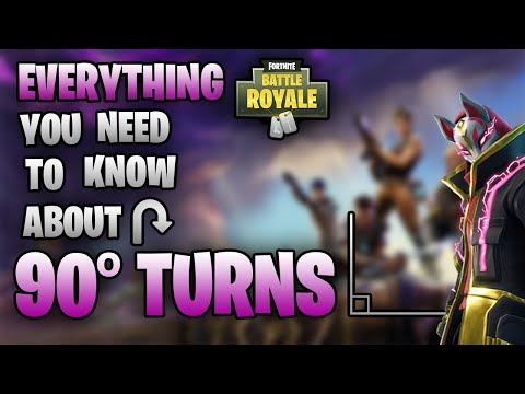 FORTNITE How To Do 90 Degree Turns Fast *PC* Guide (Keybinds, Practice & Common Mistakes)