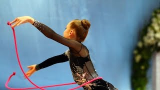 Rhythmic gymnastics with rope in Russia 3