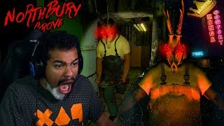 THERE IS A SLASHER IN THESE WOODS!! | Northbury Grove [Ending / Full Game]