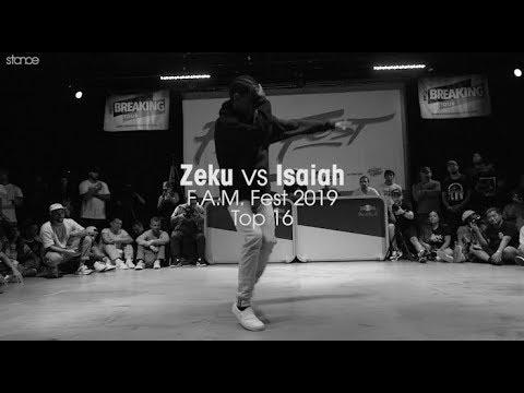 Zeku vs Isaiah [Top 16] // .stance // F.A.M. Fest 2019