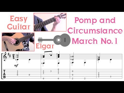 Pomp and Circumstance March /Elgar (Easy Guitar)