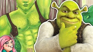 Drawing Shrek...BUT AS A HOT GUY