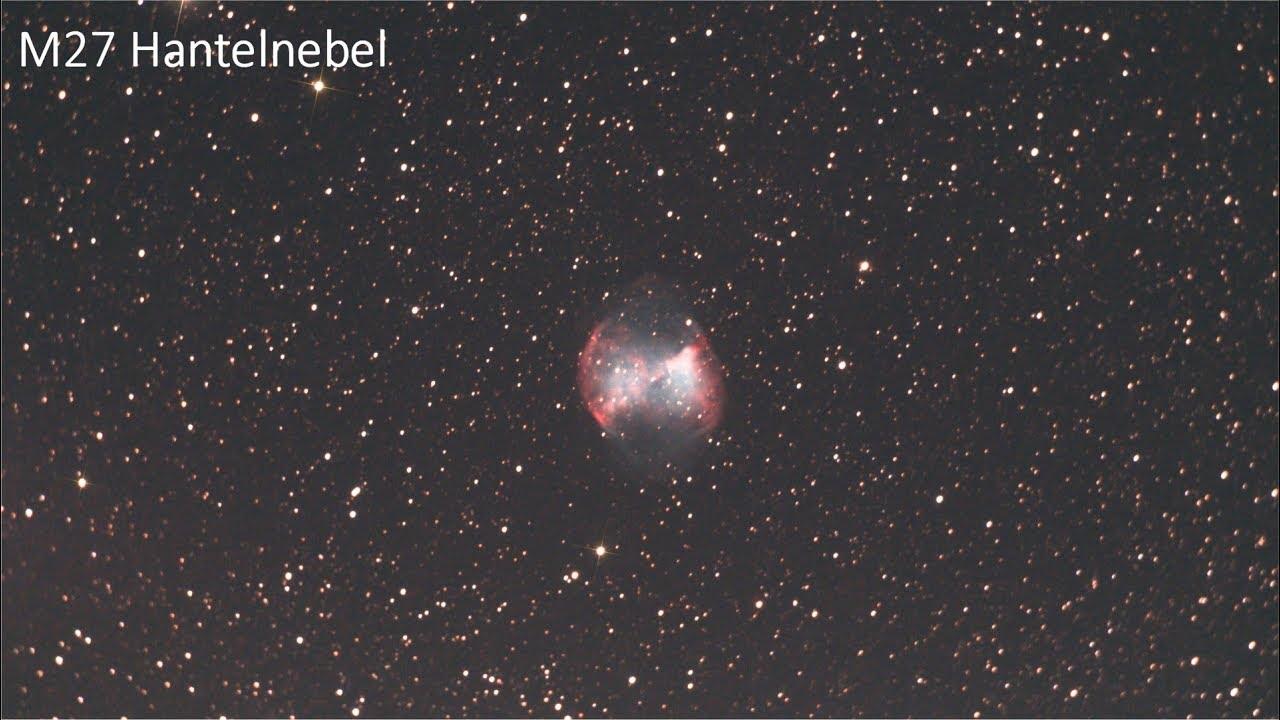 Professionelle astrofotografie teleskop mit guider umfang und