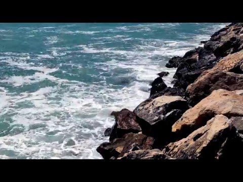 BEST 10 Hours of SEA Waves SOUND & VIDEO from the Black Sea - Relaxing Full HD video 1080p