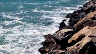 BEST 10 Hours of SEA Waves SOUND from the Black Sea - Relaxing Full HD video 1080p