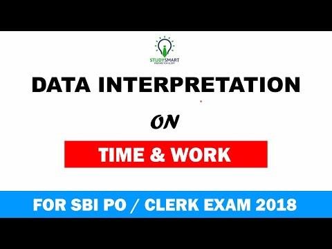Data interpretation on Time and Work for SBI PO | SBI CLERK | IBP PO