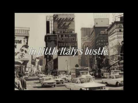 Manhattan Melody--a lyric video featuring Django Haskins