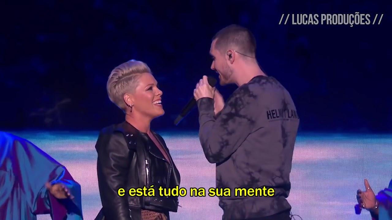 Download P!nk - Just Give Me A Reason (feat. Dan Smith) [Tradução/Legendado]   Live at The BRIT Awards 2019