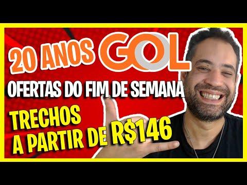 (20 ANOS GOL) - AS MELHORES OFERTAS 2021 DE PASSAGENS GOL PROMOCIONAIS