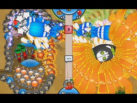 LATE GAME SUPER POWERED ZOMG - Bloons TD Battles Triple Combo Arena