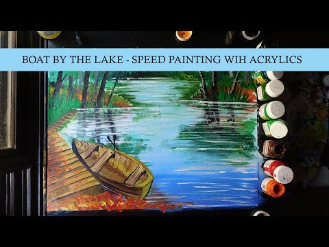 Acrylics on Canvas – Scenery Painting