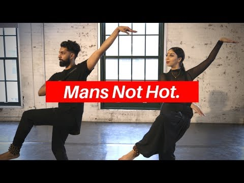 Mans Not Hot INDIAN STYLE - Indian Classical Dance (Bharatnatyam Fusion Choreography)