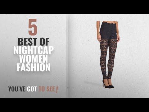 Nightcap Women Fashion [2018 Best Sellers]: Nightcap Clothing Women's Sexy Dixie Black Lace Pants