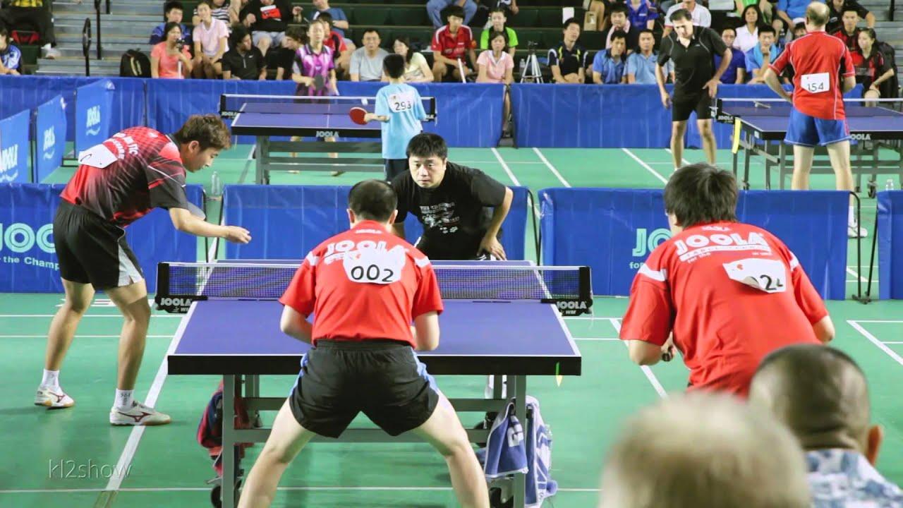 2011 L.A. Open Table Tennis Tournament: Open Doubles Final ...