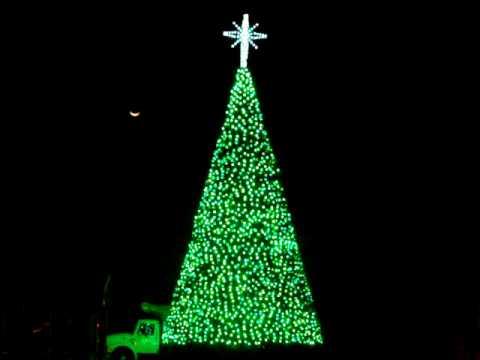 50 Foot Led Animated Christmas Tree Youtube