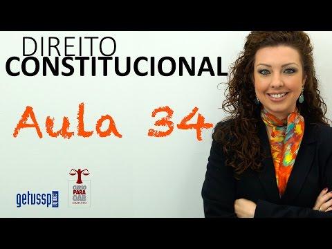 Aula 34 - Direito Constitucional - Organização Do Estado E A Federação Brasileira - Parte 1