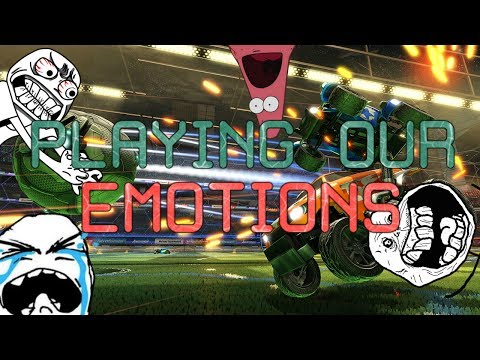 EMOTION SHIFTING ROCKET LEAGUE!! RAGE TO HAPPY?!