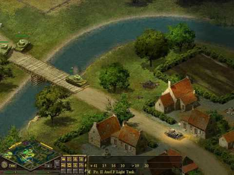 Blitzkrieg 1 -Allies mission 2_Plan D -The Defense of France |