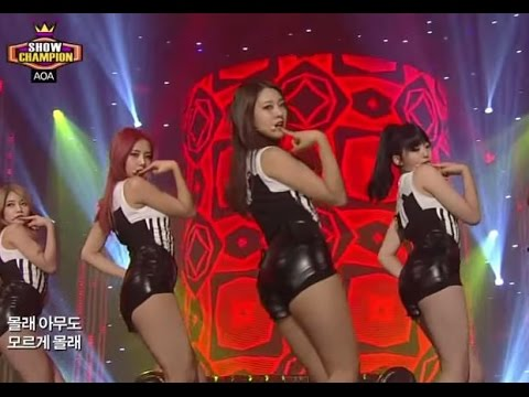 AOA - Confused, 에이오에이 - 흔들려, Show Champion 20131023