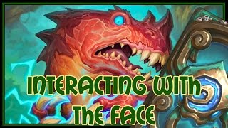 Hearthstone: Interacting with the face (midrange hunter)