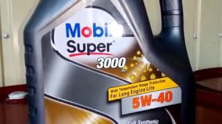 ⛔️Ужас⛔️Mobil Super 3000 5W40 подделка очень низкого качества