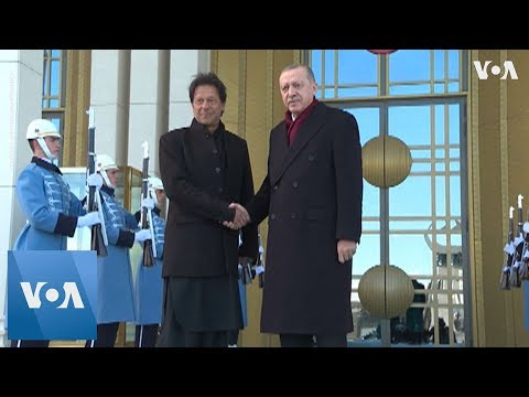 Pakistan's Imran Khan Meets with Turkey's Erdogan