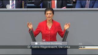Sahra Wagenknecht: Die Folgen westlicher Politik 24.09.2015 - Bananenrepublik