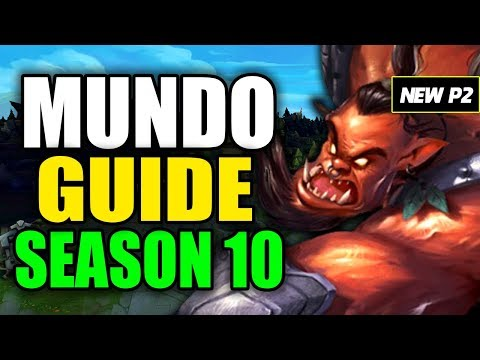 HOW TO PLAY MUNDO SEASON 10 - (Best Build, Runes, Playstyle) - S10 Mundo Gameplay Guide