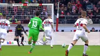 Video Gol Pertandingan Vfb Stuttgart vs Borussia Monchengladbach