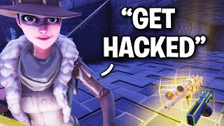 Scammer hackt mich INSTANTLY!?!? 😞😨 (Scammer Get Scammed) Fortnite Save The World