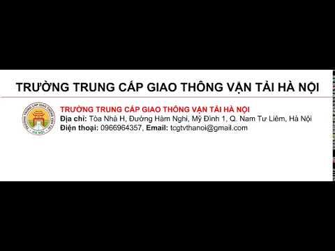 Sản phẩm của học viên Trung Cấp Giao thông vận tải Hà Nội