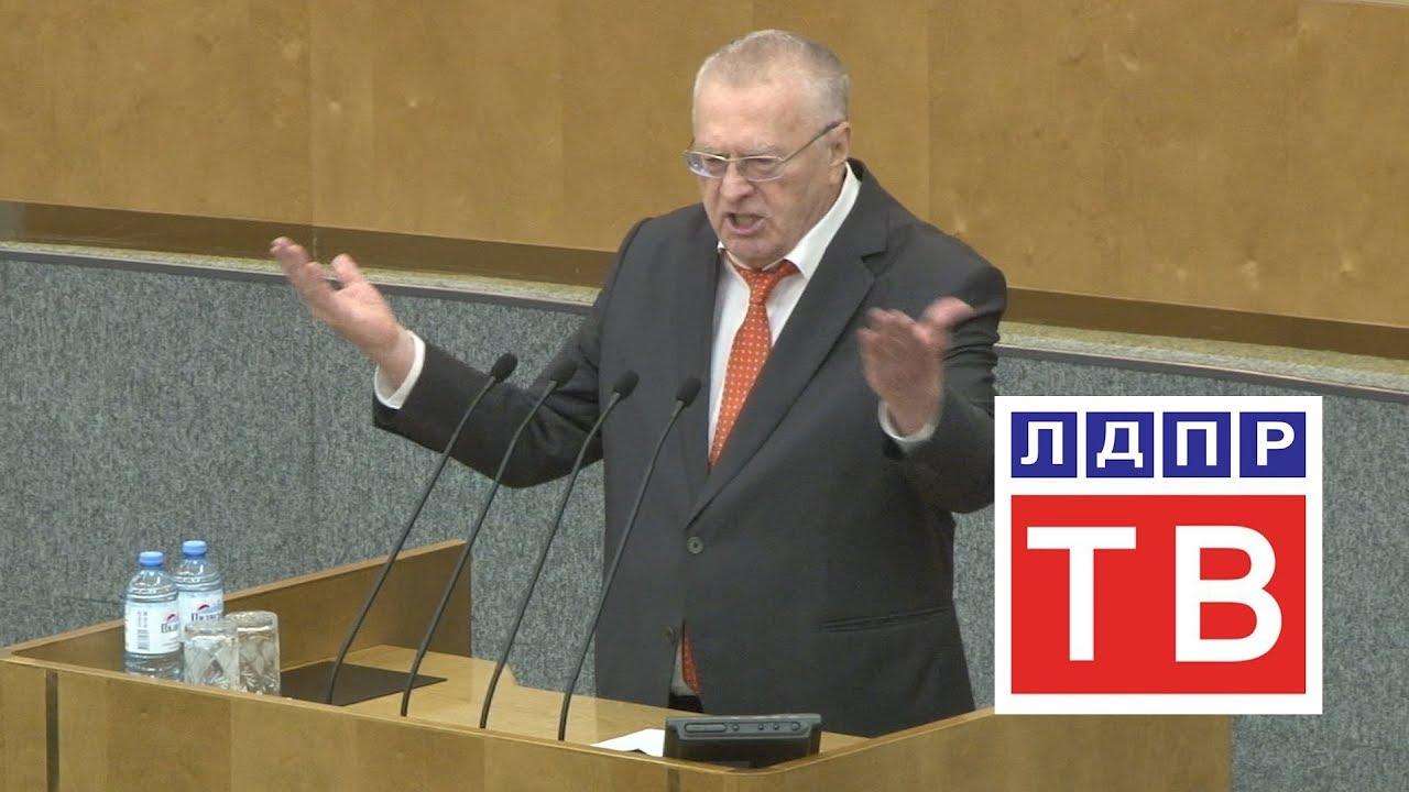Владимир  Жириновский: Законы надо принимать так, чтобы они действовали веками!