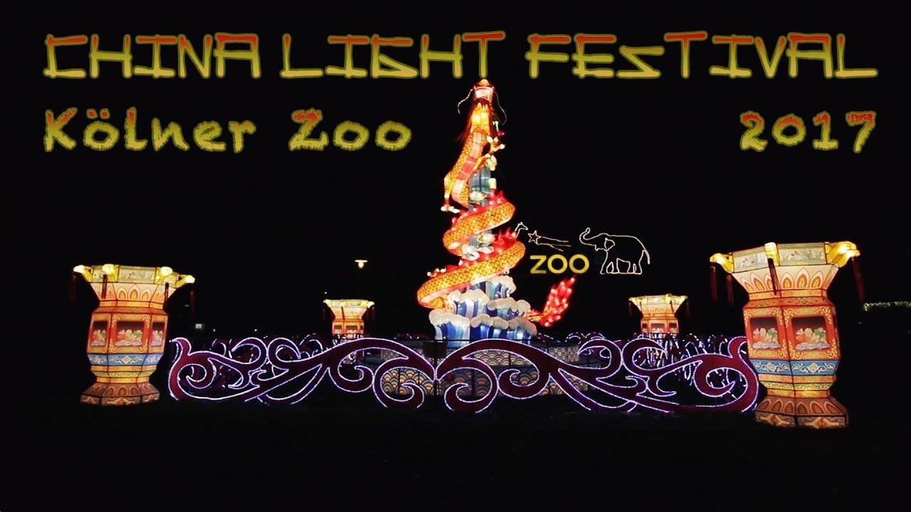China Light Festival Köln Zoo