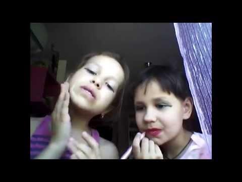 Самое смешное видеоКак правильно краситься,учимся у