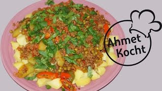 Rezept: Hackfleisch mit Kartoffeln | AhmetKocht | kochen | Folge 121