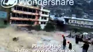 Powerful Floods in Swat Valley, Pakistan