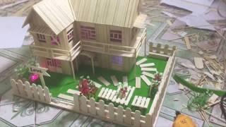 Dạy làm nhà tăm tre từ A-Z (phần 6) | Hướng dẫn làm nhà tăm mã N-2A