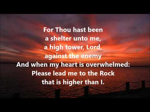 Psalm 61:1-3