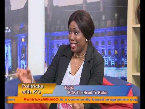 #PolitricksWithKO September Edition IPOB and Nigerian State Kayode @Ogundamisi and Rose P. Graham