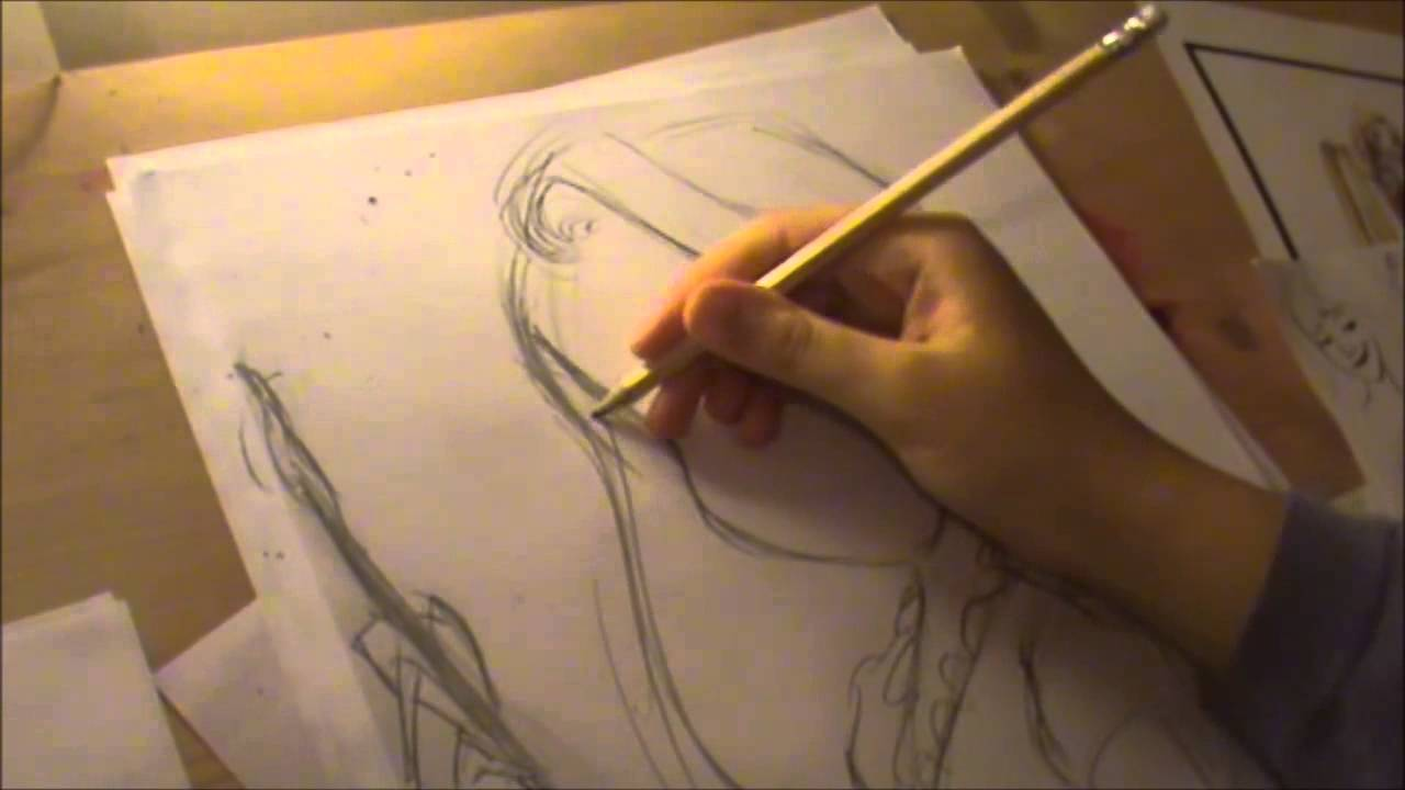 How To Draw Disney S Tangled Rapunzel Youtube