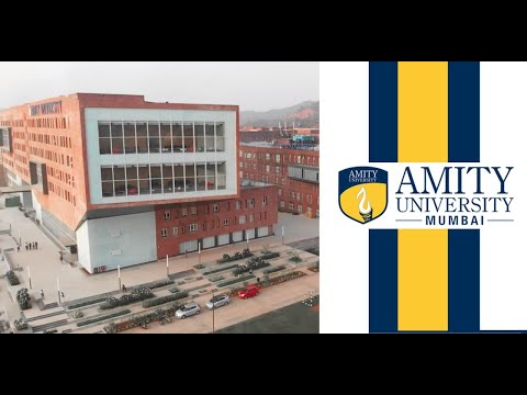 Campus Tour L Amity University Mumbai Youtube