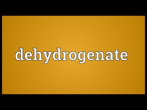 Header of dehydrogenate
