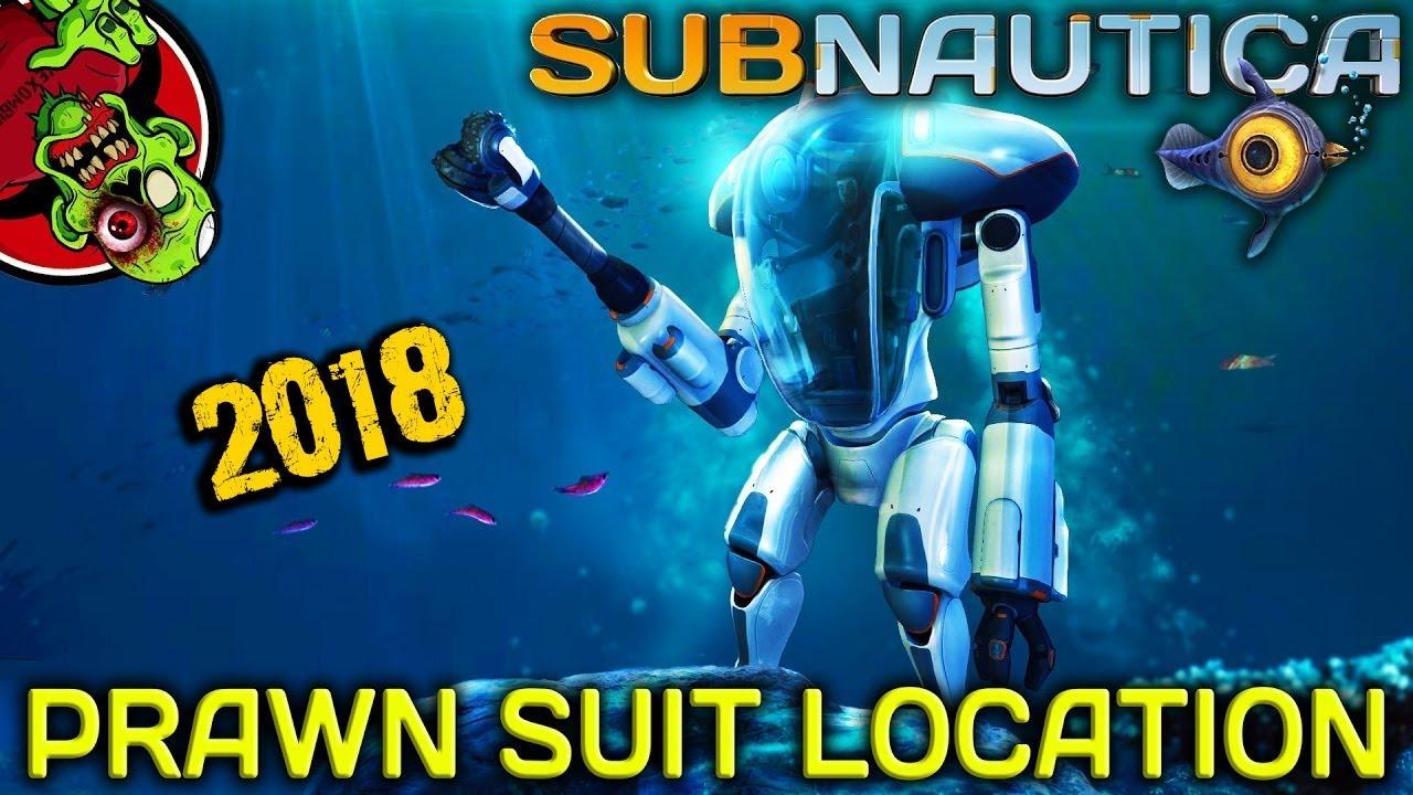 Prawn Suit Fragment Location 2018 Subnautica Youtube